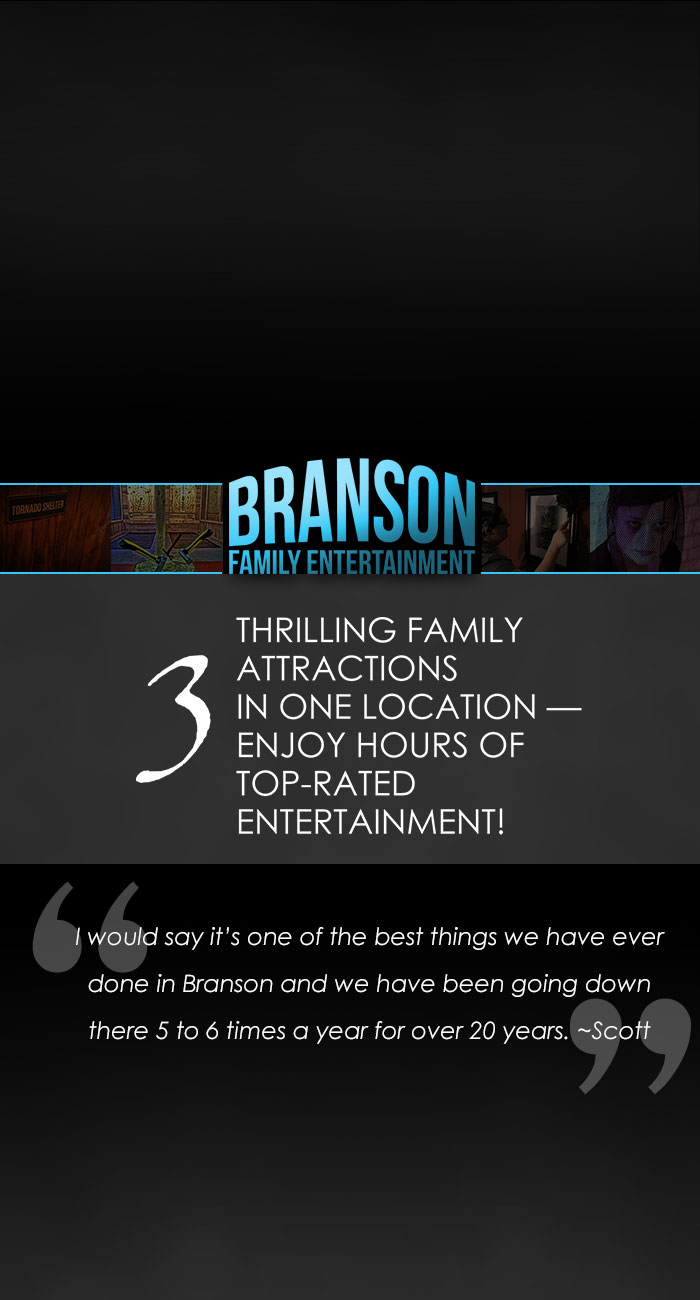 Branson Family Entertainment   Best Attractions