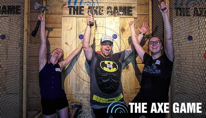The Axe Game   Branson, Missouri